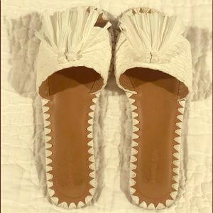 Gianni Bini white Sandals
